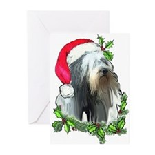 Santa Beardie Greeting Cards (Pk of 20)