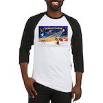 XmasSunrise/2 Collies Baseball Jersey