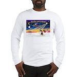 XmasSunrise/2 Collies Long Sleeve T-Shirt