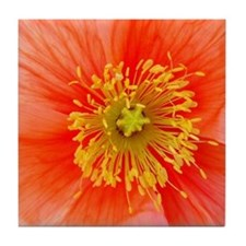 Poppy Tile Coaster