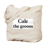 Cale the groom Tote Bag
