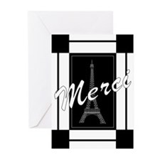Merci Greeting Cards (Pk of 10)