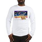 XmasSunrise/3 Goldens Long Sleeve T-Shirt