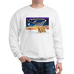 XmasSunrise/3 Goldens Sweatshirt