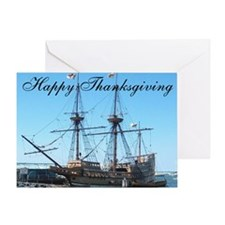 Thanksgiving Mayflower Greeting Card