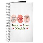 Peace Love Martini Journal