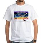 XmasSunrise/Silky Ter #10 White T-Shirt