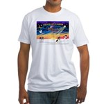 XmasSunrise/Rat Ter #1 Fitted T-Shirt