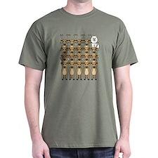 Samoyed and Reindeer T-Shirt