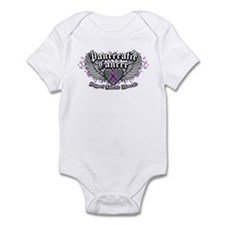Pancreatic Cancer Wings Infant Bodysuit