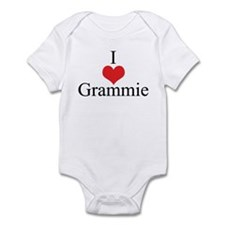 I Love (Heart) Grammie Infant Bodysuit