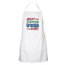 Best Fishing Grandpa Ever! BBQ Apron