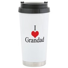 I Love (Heart) Grandad Ceramic Travel Mug
