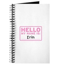 Hello My Name Is: Erin - Journal