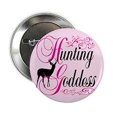 "Hunting Goddess 2.25"" Button"