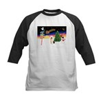 XmasSigns/Old English #3 Kids Baseball Jersey