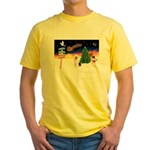 XmasSigns/Old English #3 Yellow T-Shirt