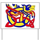 Lion of Kells Yard Sign