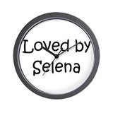 Cute Selena Wall Clock