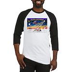 XmasSunrise/3 Whippets Baseball Jersey