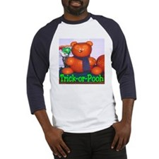 Trick-or-Pooh by T. Smith Baseball Jersey
