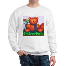 Trick-or-Pooh by T. Smith Sweatshirt