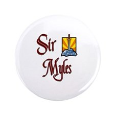 "Sir Myles 3.5"" Button"