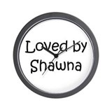 Cute Shawna Wall Clock