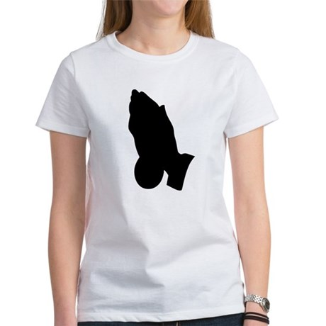 Praying Hands Women's T-Shirt