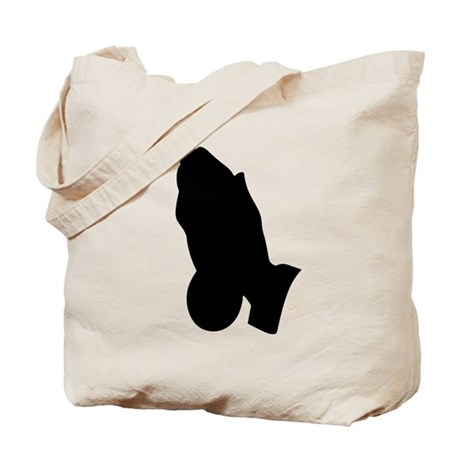 Praying Hands Tote Bag
