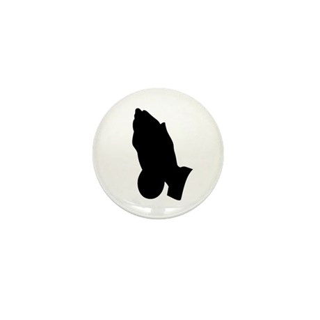 Praying Hands Mini Button (100 pack)