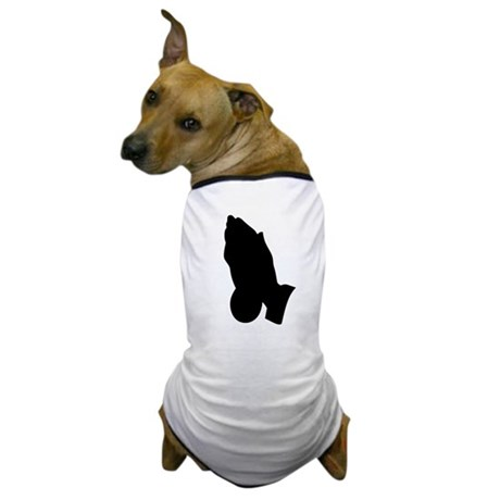 Praying Hands Dog T-Shirt
