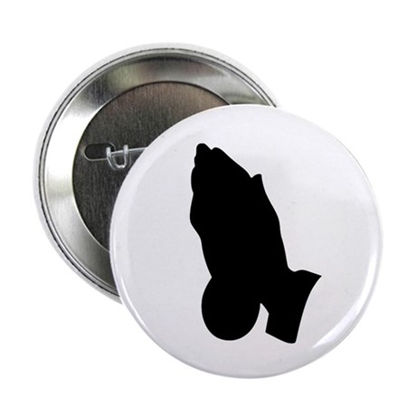"Praying Hands 2.25"" Button (100 pack)"