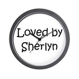 Cute Sherlyn Wall Clock