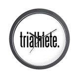 triathlete Wall Clock