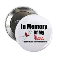 "InMemoryNana Lung Cancer 2.25"" Button (10 pack)"