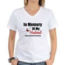 InMemoryHusband LungCancer Shirt