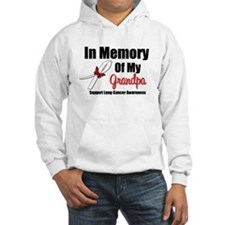 InMemoryGrandpa Lung Cancer Hoodie