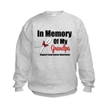 InMemoryGrandpa Lung Cancer Sweatshirt
