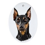 Doberman Pinscher Christmas Ornament