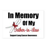 InMemoryFIL Lung Cancer Postcards (Package of 8)