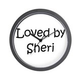 Cool Sherie Wall Clock