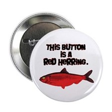 "'Red Herring' Writer 2.25"" Button"