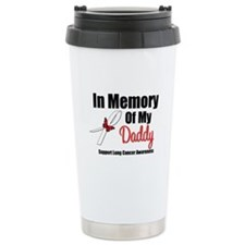 InMemoryDaddy Lung Cancer Ceramic Travel Mug
