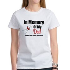 InMemoryDad Lung Cancer Tee