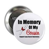 "InMemoryCousin Lung Cancer 2.25"" Button (10 pack)"