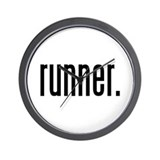 runner. Wall Clock