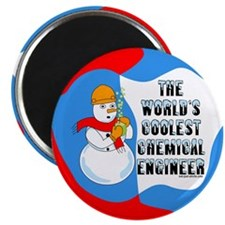 "Cool Chemical Engineer 2.25"" Magnet (100 pack)"