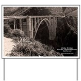 Bixby Bridge Yard Sign