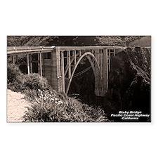 Bixby Bridge Rectangle Sticker 10 pk)